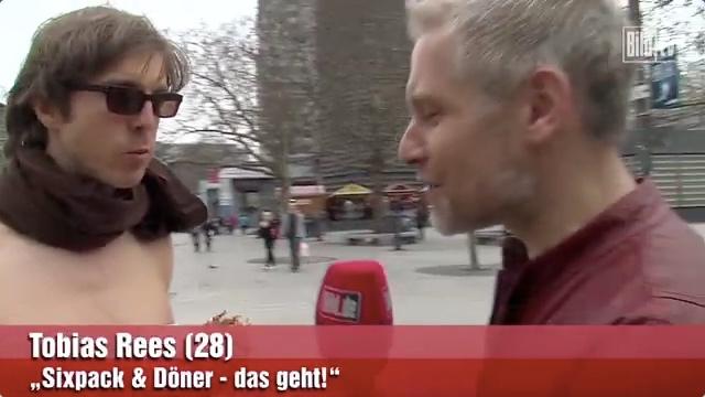 Tobias Rees in der Bild-Zeitung.