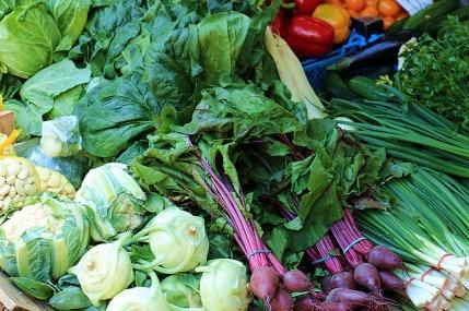 Dukan-Diät: Foto von verschiedenen Gemüsesorten