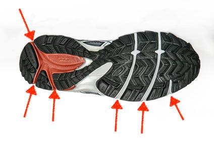 Flexkerben: Für ein möglichst schonendes und ergonomisches Abrollen.