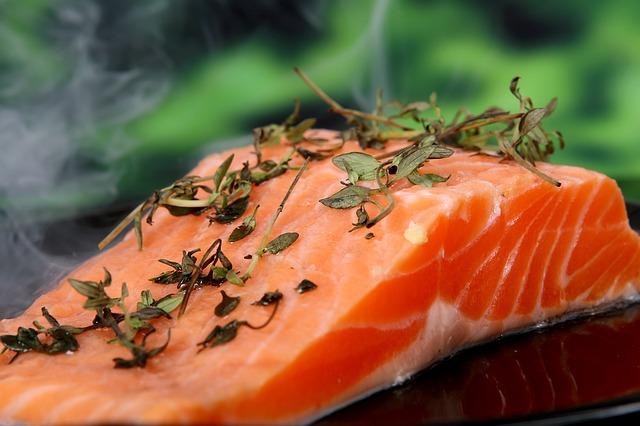 Foto von dem kohlenhydratarme Nahrungsmittel Fisch.