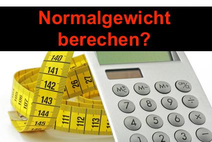 Normalgewicht berechnen: Foto von einem Messband mit Taschenrechner.