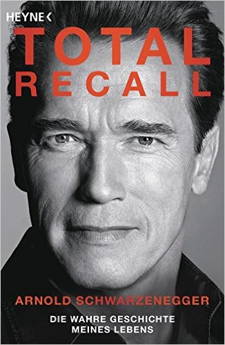 Wie motiviere ich mich zum Sport? Arnold Schwarzenegger Biografie Buch Total Recall.