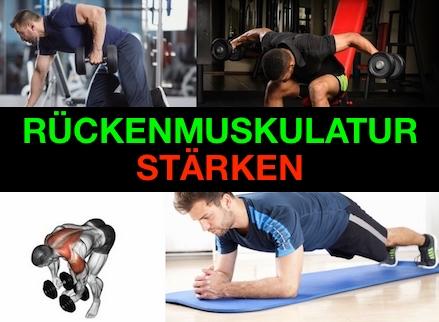 Foto von Übungen zur Stärkung der Rückenmuskulatur.
