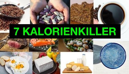 Kalorienkiller: Foto von Ernährung zum Kalorien verbrennen.