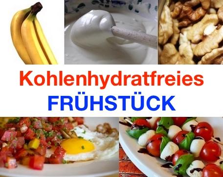Kohlenhydratfreies Frühstück: Foto von Mahlzeiten mit wenigen Kohlenhydraten.