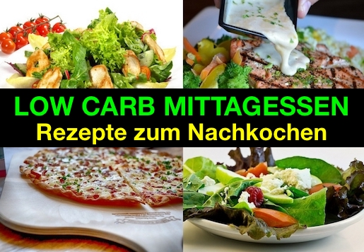 4 low carb mittagessen rezepte zum nachkochen. Black Bedroom Furniture Sets. Home Design Ideas