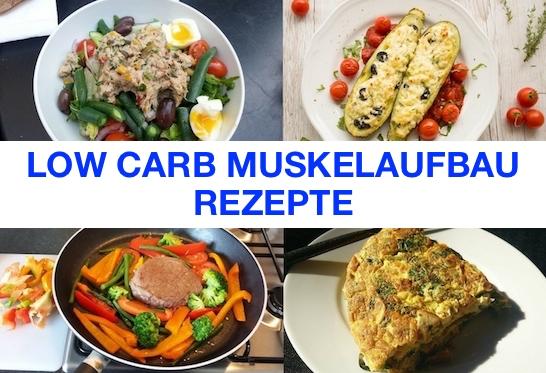 Foto von Low Carb Muskelaufbau Rezepte.