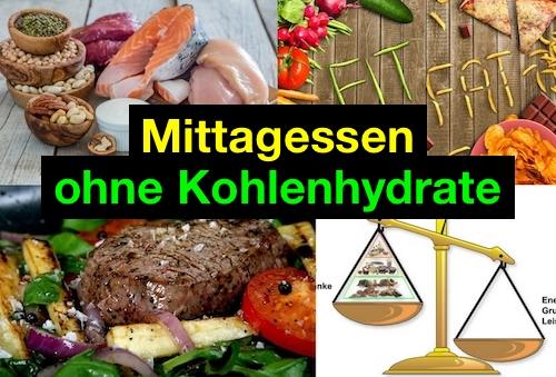 Mittagessen ohne Kohlenhydrate: Foto von kohlenhydratarmen Mahlzeiten.