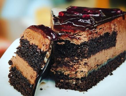 Foto von einem leckeren Kuchen.